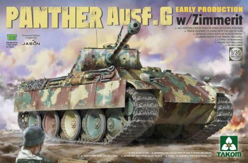Panther Ausf.G Early Production w/Zimmerit 1/35