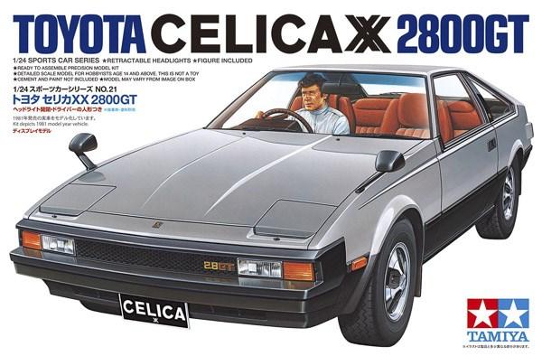 TOYOTA CELICA XX 2800GT 1/24