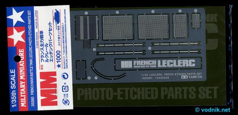 Leclerc - Photo Etched Parts Set 1/35