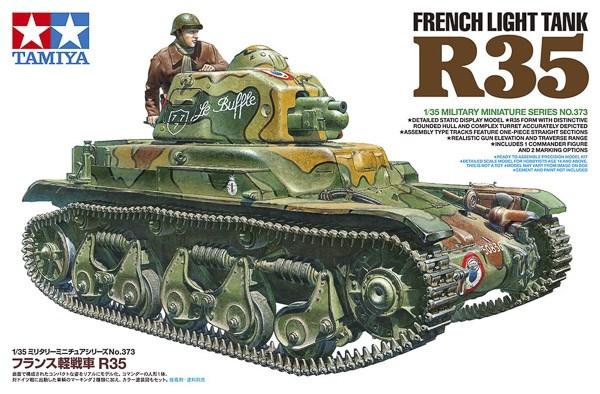 FRENCH LIGHT TANK R35 1/35