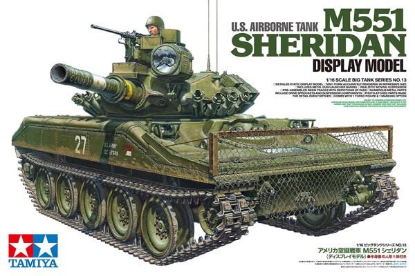 U.S. AIRBORNE TANK M551 SHERIDAN 1/16