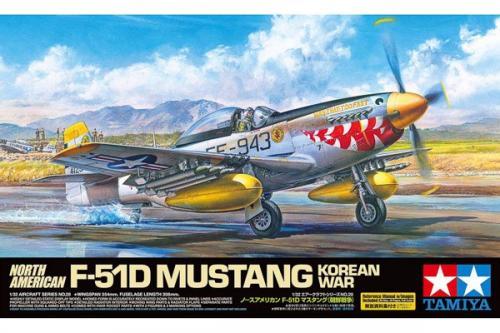 NORTH AMERICAN F-51D MUSTANG KOREAN WAR 1/32