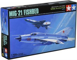 MIG-21 FISHBED 1/100