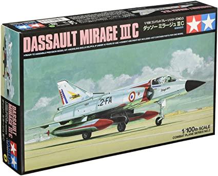 MIRAGE III C 1/100