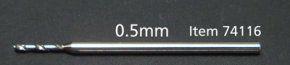 Fine Pivot Bit 0.5mm shank 1mm