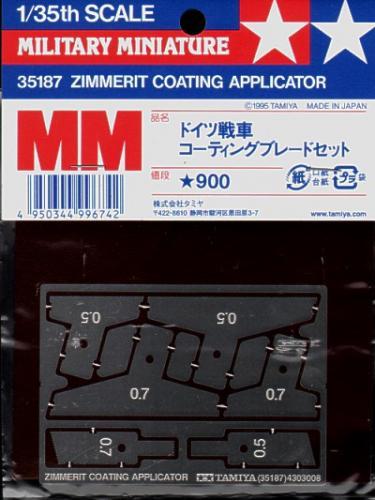 Zimmerit Coating Applicator