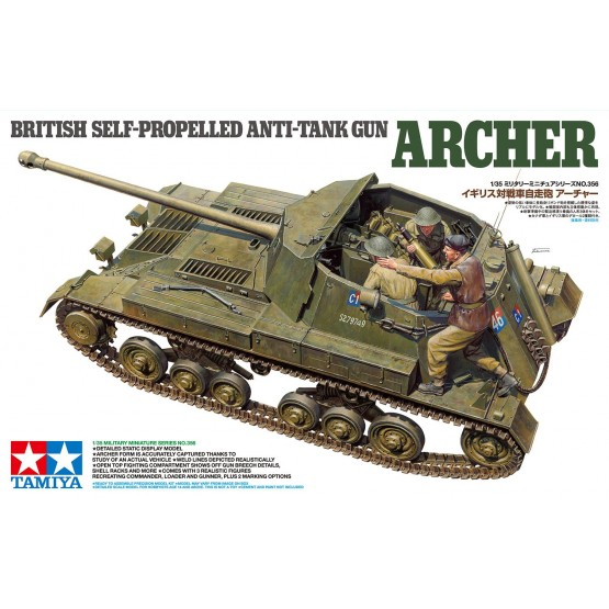 British Anti Tank Gun Archer – Self Propelled 1/35