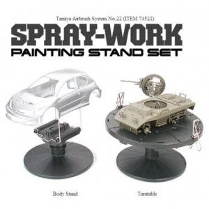 Spray Work Painting Stand Set