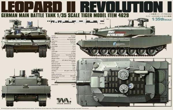 LEOPARD II REVOLUTION I MBT 1/35