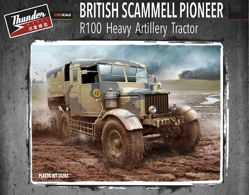 Scammell Pioneer R100 Artillery Tractor 1/35