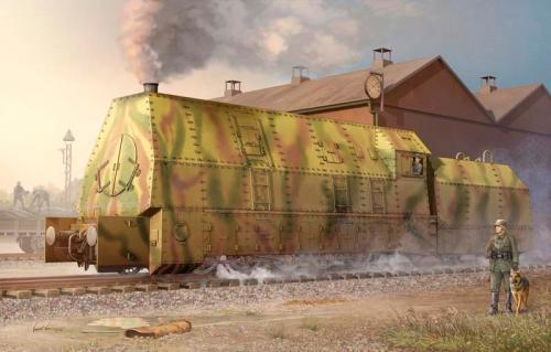 Panzerlok BR57 Armoured Locomotive 1/35
