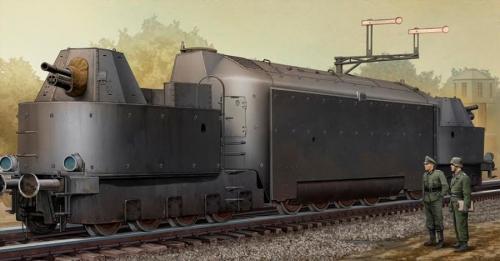 German Armored Train Panzertriebwagen Nr.16 1/35