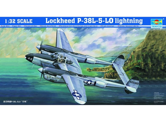 P-38 Lockheed Lightning 1/32