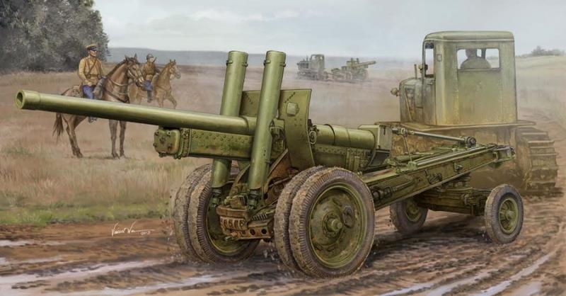 Soviet A-19 122mm Gun Mod.1931/1937 1/35
