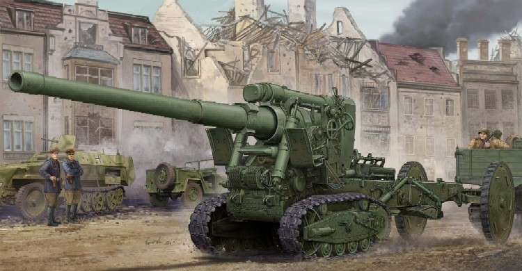 Soviet Br-2 152mm Gun M1935 1/35