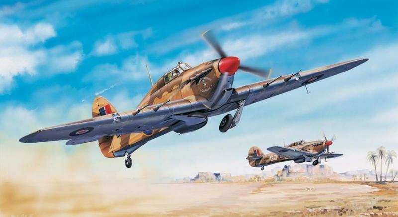 Hurricane MK.II C/Trop 1/24