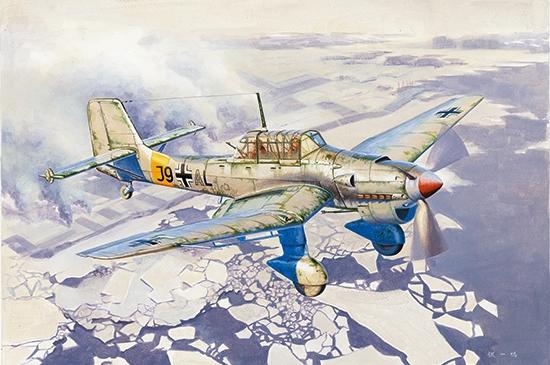 Junkers Ju-87B-2/U4 Stuka 1/24