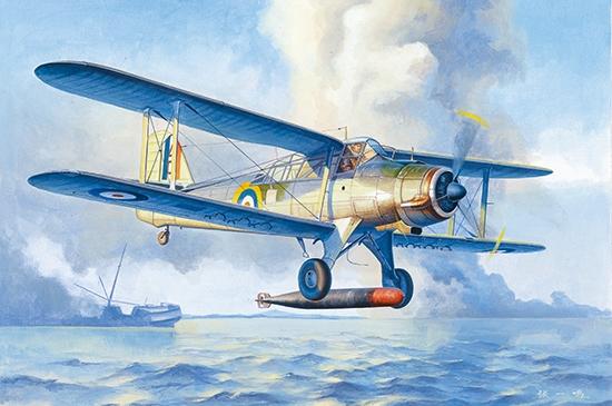 Fairey Albacore Torpedo B+B2882 1/48