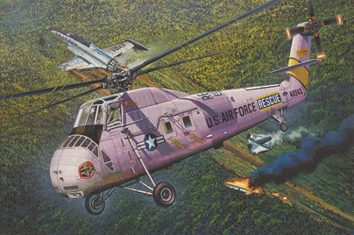 HH-34J USAF Combat Rescue 1/48