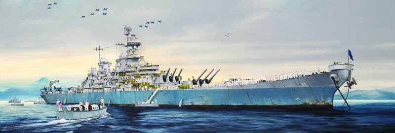 USS Missouri BB-63 L.135 cm 1/200