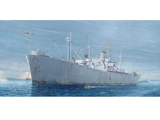 Liberty Ship S.S. Jeremiah O'Brien 1/350