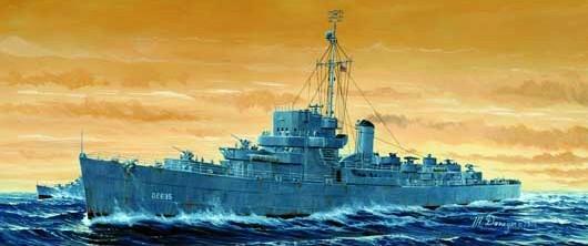 USS England DE-635 1/350