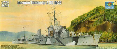 Zerstöer Z-30, 1942 1/350