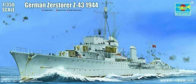Zerstöer Z-43, 1944 1/350