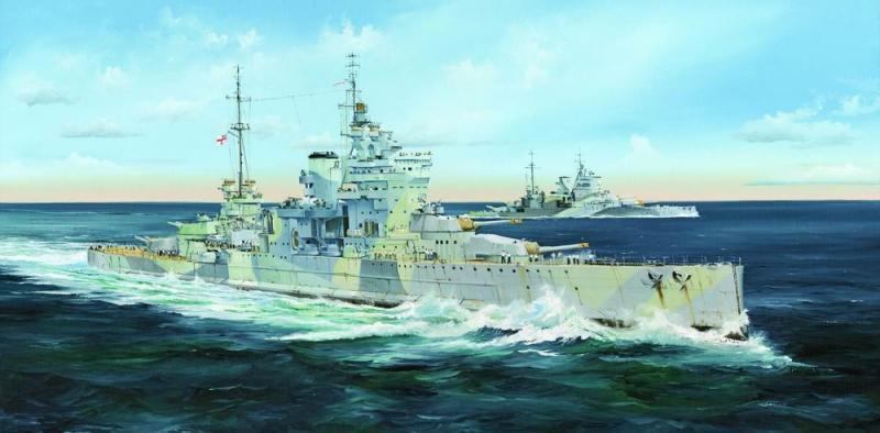 HMS Queen Elizabeth 1/350