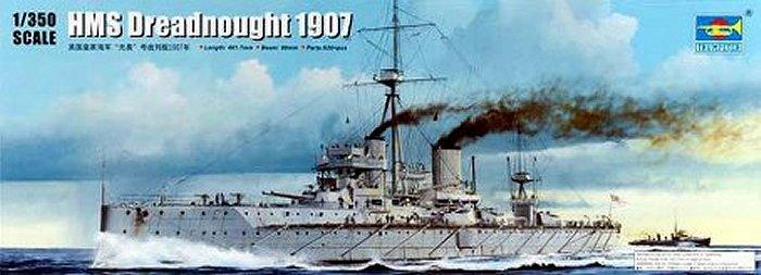 HMS Dreadnought 1907 1/350