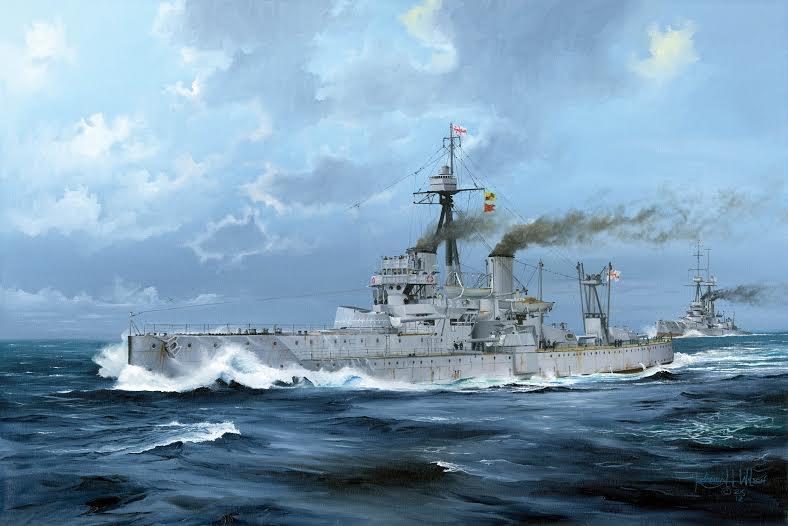 HMS Dreadnought 1918 1/350