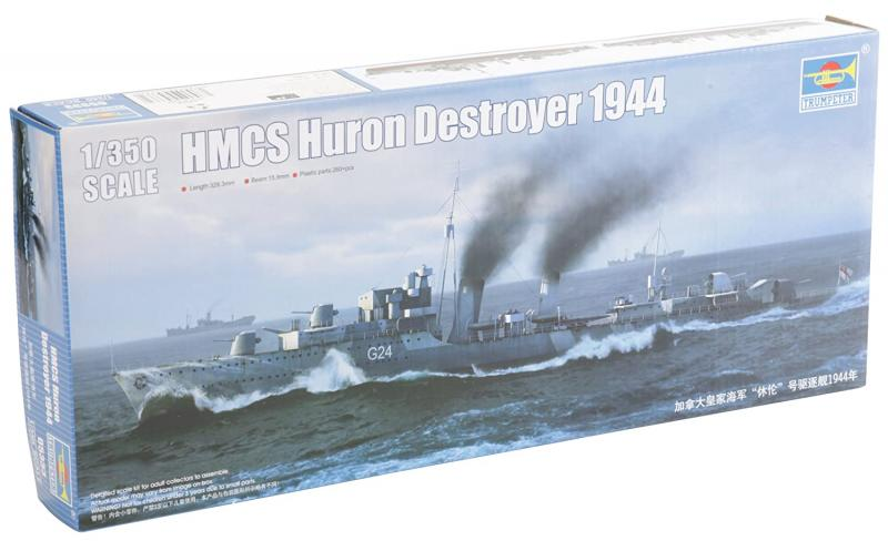 HMS Huron Destroyer 1944 1/350