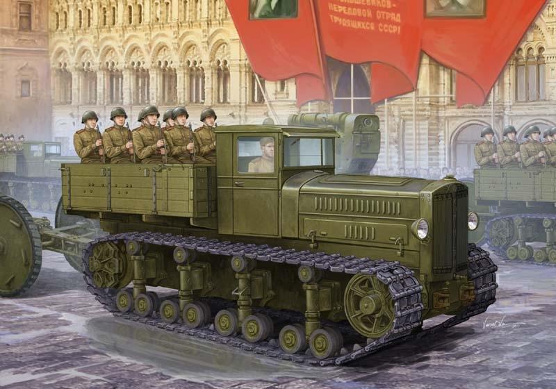 Soviet Komintern Artillery Tractor 1/35