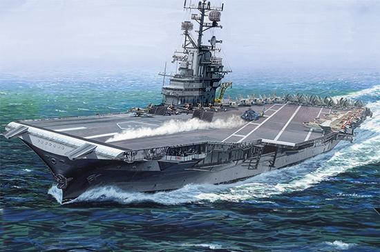 USS Intrepid CV-11 1/350