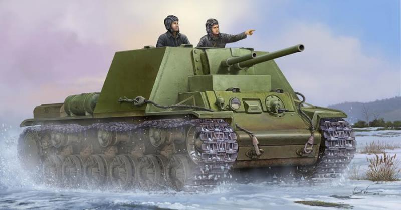 Soviet Kv-7 Mod 1941 1/35