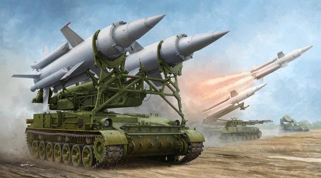 Soviet 2K11A Tel w.9M8M Missile 1/35