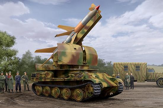 Flakpanther w/8,8cm Flakrakete Rheintochter 1 1/35