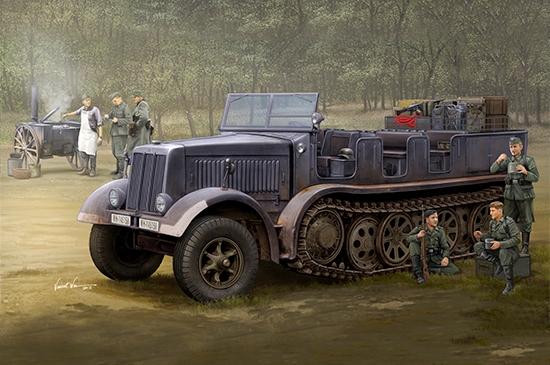 Sd.Kfz.8 (Db9)Half-Track Artillery Tractor 1/35