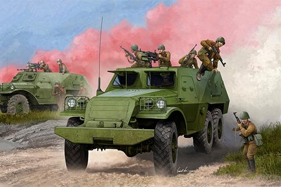 Soviet BTR-152V1 APC 1/35
