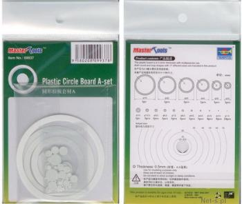 Plastic circle board A set