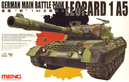 Tank Leopard 1 A5 1/35