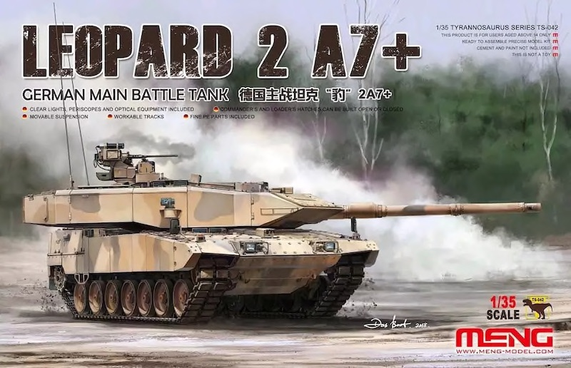 Leopard 2A7+ 1/35