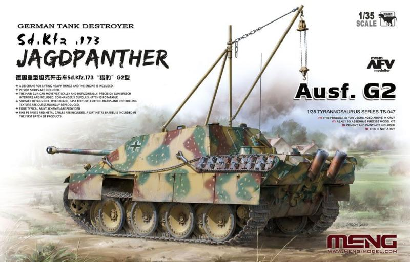 German Tank Destroyer Sd.Kfz. 173 Jagdpanther 1/35