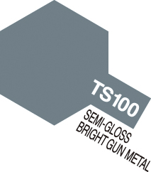TS-100 Bright Gun Metal - 100ml