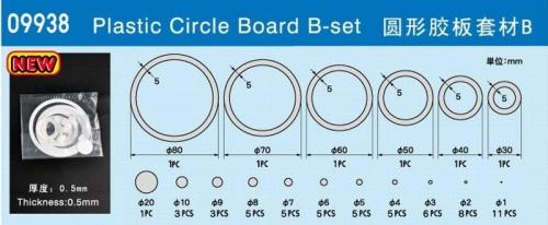 Plastic circle board B set