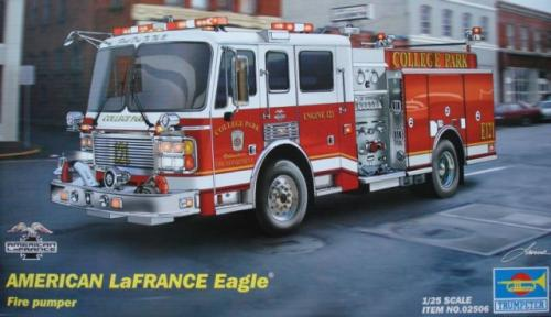 American LaFrance 2002 Battalion Pumper fire truck 1/25