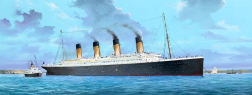 R.M.S. Titanic incl. LED set 1/200