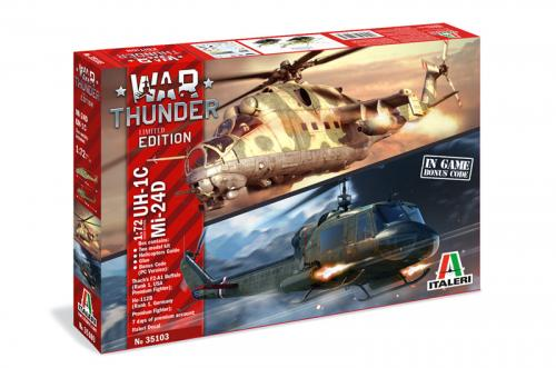 WAR THUNDER - UH-1C & MI-24D 1/72