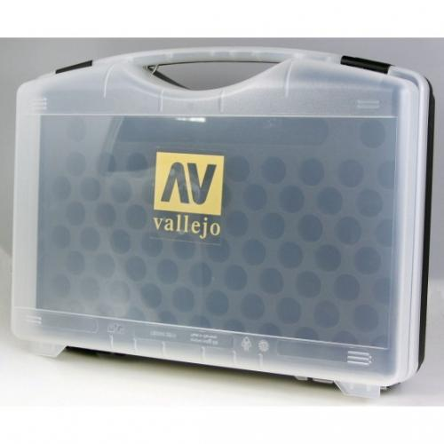 Plastic suitcase - empty for 72 colors