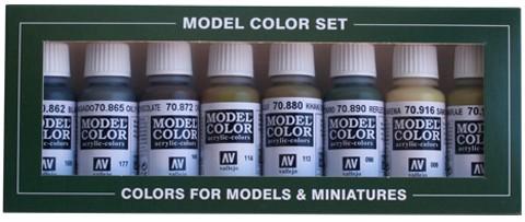 Panzer Colors (x8)